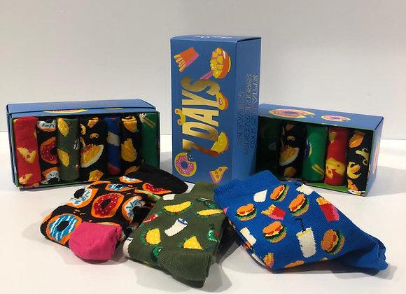 Cofanetto calze 7 days Happy Socks