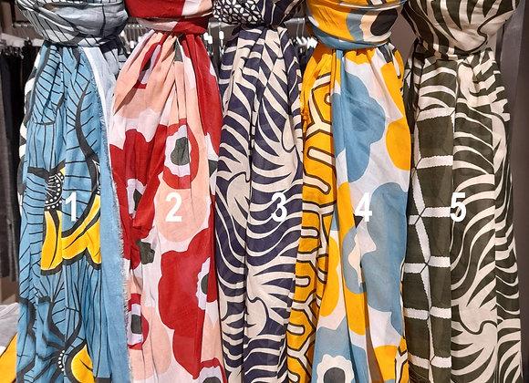 Foulard multicolore Niu Fashion