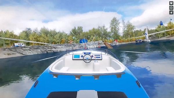Bateau réalité virtuelle VR