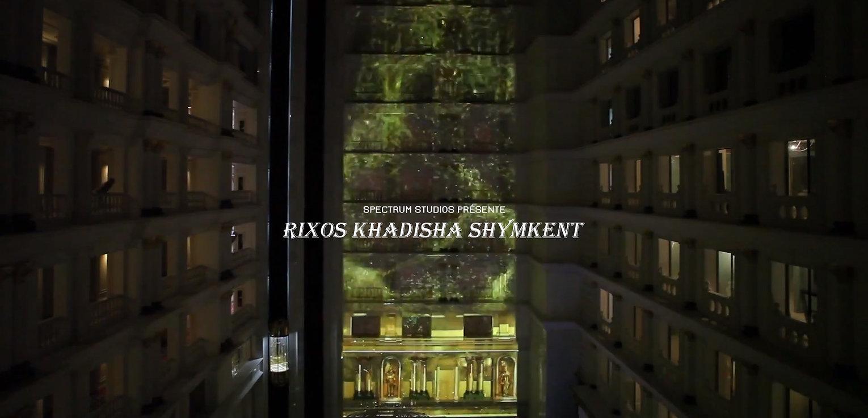 Création mapping vidéo Paris kazakhstan