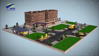 simulateur autoroute film 3D