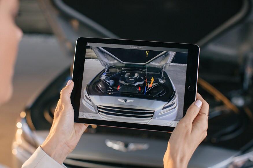 maintenance réalité augmentée voiture