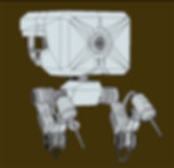 robot modélisé en 3D agence spectrum