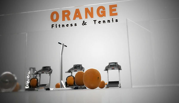 animation 3D film orange fitness