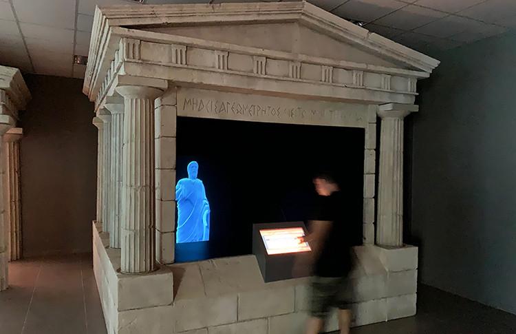 hologramme pour Musée