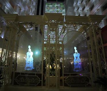 hologramme danseuses 3D