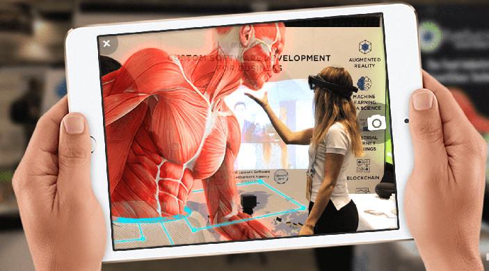 réalité augmentée exemple médical