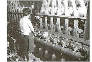 畳縁, 歴史, 畳縁工場