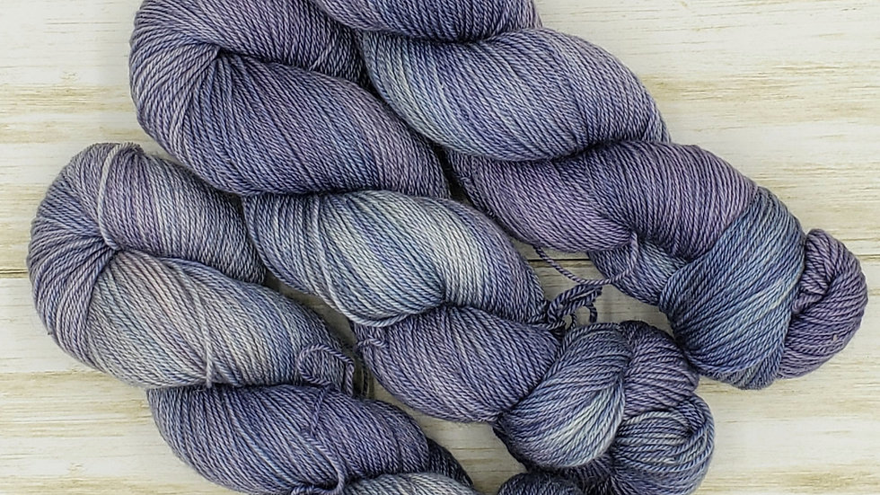 Orchid BFL Wool, Silk, and Cashmere Silk Lot 1