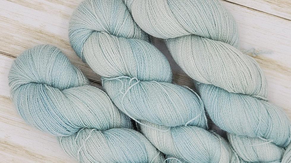Laceweight Alpaca, Silk and Cashmere Indigo Lot 1