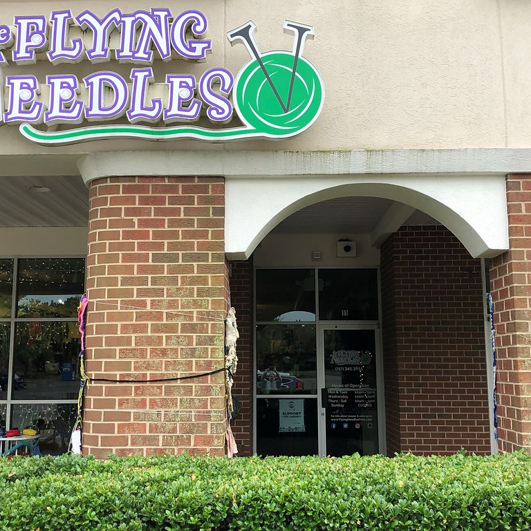 Trunk Show at the Flying Needles