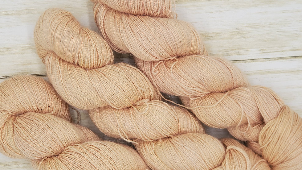 Laceweight Alpaca, Silk and Cashmere Locust Lot 1