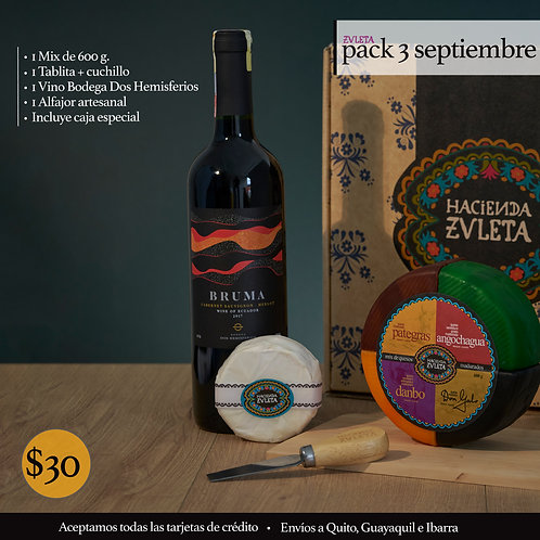 Pack 3 Septiembre