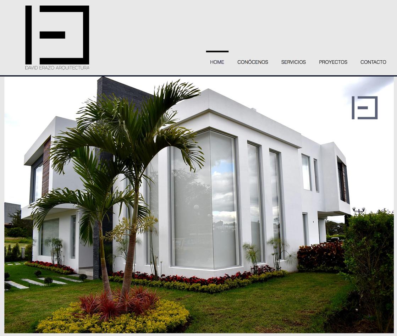 Web David Erazo Arquitectura