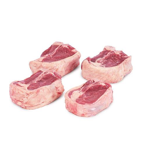 T-bone de cordero (peso aprox. 2 libras)
