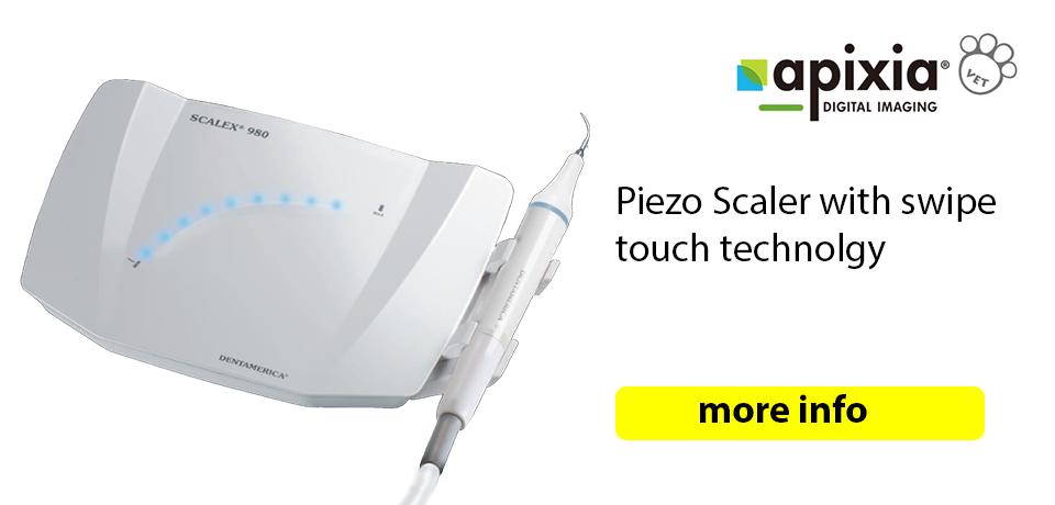 scalex 980 piezo dental scaler with swip