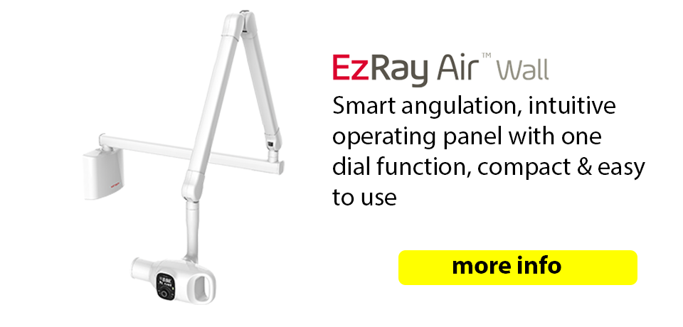 Ezray Air Wall Mounted Dental X ray - co