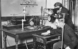 Crookes tube xray experiment