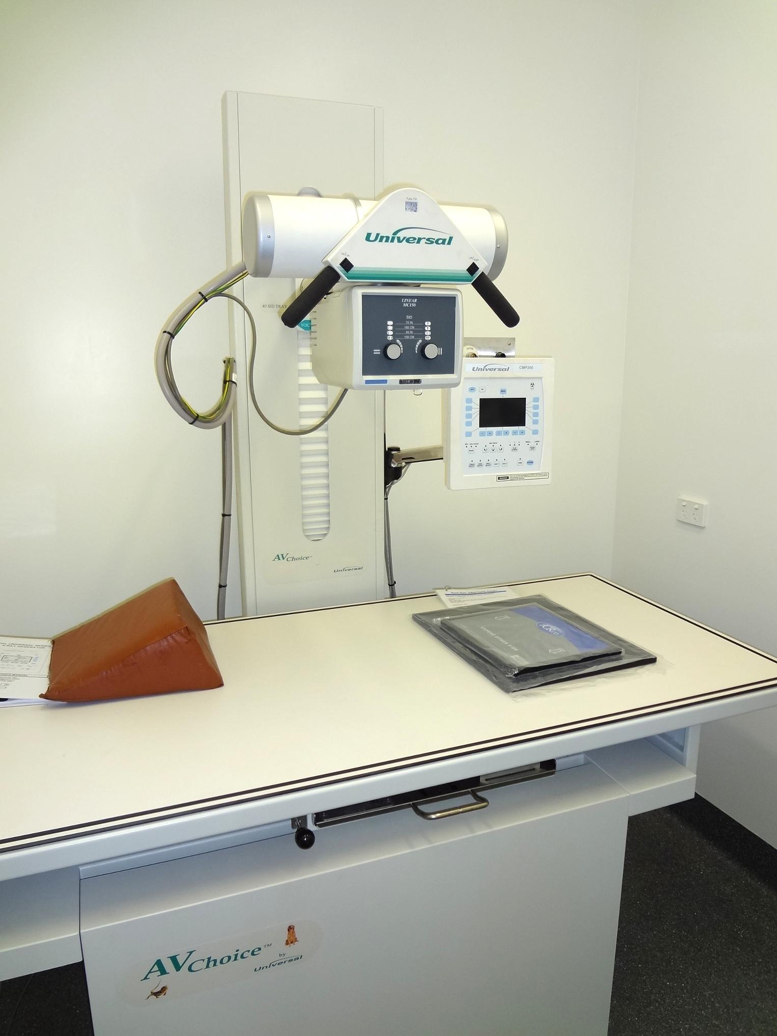 av choice vet x ray machine