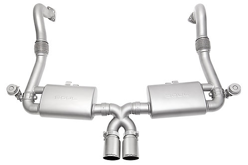 Soul Performance Porsche 718 Boxster / Cayman Valved Exhaust System