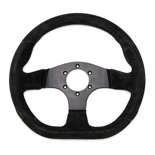 Racetech Flat Suede Wheel - 330mm flat bottom
