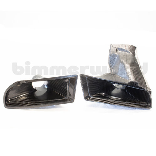 E92 M3 Carbon Brake Ducts