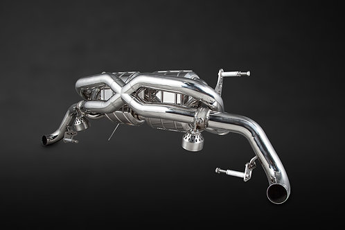 Audi R8 V10 (Post-Facelift: up to 2015) X-Pipe Exhaust System (Incl. Remote)
