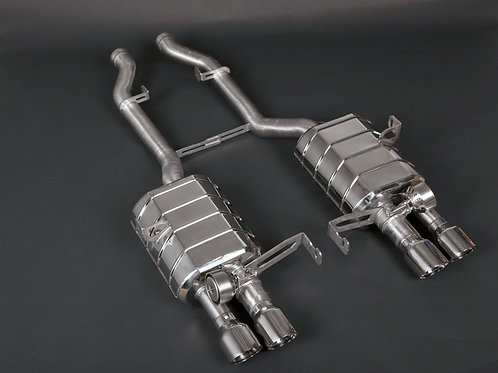 Capristo BMW M3 (E92) -Valved Exhaust System (Catback) incl. Remote