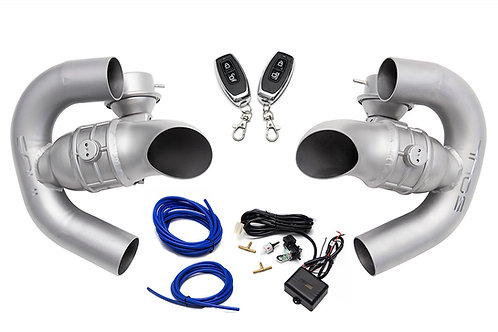 Soul Performance Porsche 986 Boxster Valved Muffler Bypass Conversion