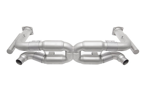 Soul Performance Porsche 996 GT2 Competition X-Pipe Exhaust System