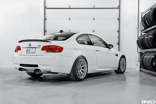 IND BMW M PERFORMANCE E92 M3 CARBON TRUNK SPOILER