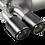Thumbnail: Akrapovic 14-17 BMW M3 (F80) Slip-On Line (Titanium) w/ Carbon Tips