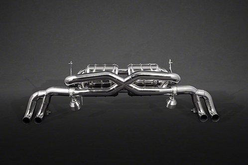 Capristo Audi R8 Pre-Facelift V8 X-Pipe Exhaust System (Incl. Remote)