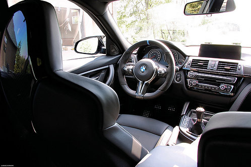 BMW M PERFORMANCE F8X V2 STEERING WHEEL