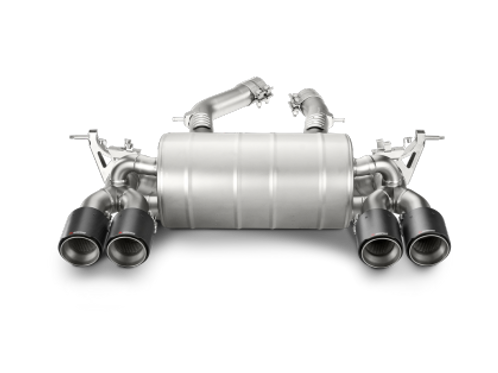 Akrapovic 14-17 BMW M3 (F80) Slip-On Line (Titanium) w/ Carbon Tips
