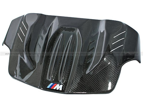 aFe Power 2015 BMW M3 / M4 L6-3.0L Carbon Fiber Engine Cover