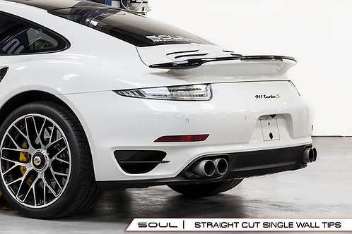 Soul Performance Porsche 991 Turbo Sport X-Pipe Exhaust System