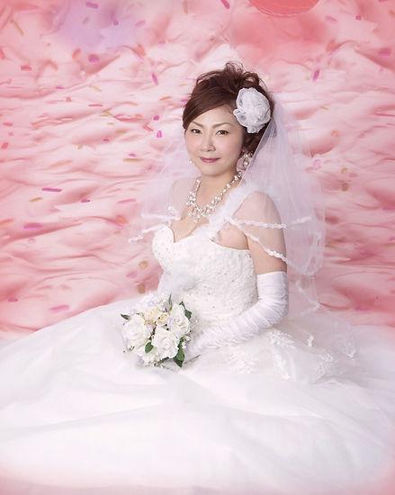 堺市西区写真館ウェディングドレス撮影