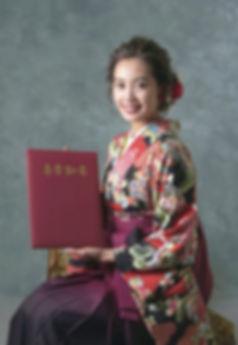 袴レンタル写真館卒業式