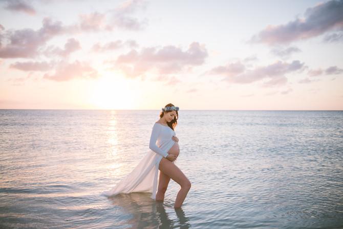 Beautiful Mama in a perfect setting