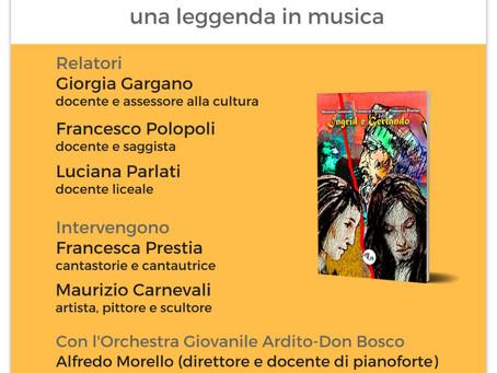 """""""Ingrid e Gerlando"""" al Liceo Tommaso Campanella di Lamezia Terme"""