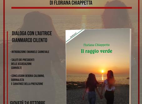 """""""Il raggio verde"""" di Floriana Chiappetta a Paola"""