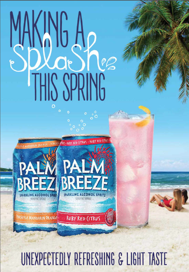 It's here!  Palm Breeze...unbelievably refreshing.