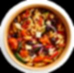 Vegeez Greek Grilled Vegetable Topshot.t
