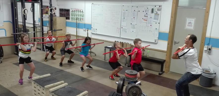 Lakiso / Muss bei den Gewichthebern des SV 08