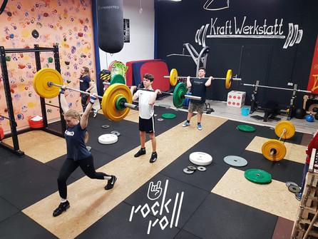 Kadernachwuchs trainiert fleißig