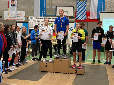 Leonie Hilbert holt Silber bei dt. Meisterschaft in Ingolstadt
