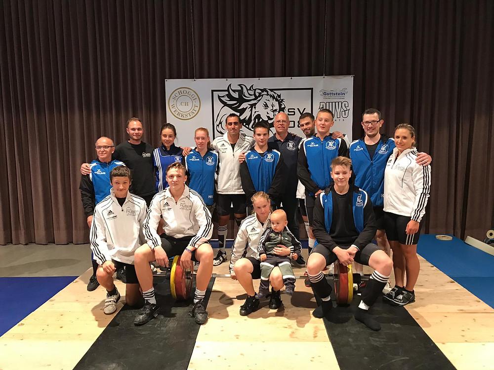 Gest VFL Nagold und die Mannschaft des SV 08