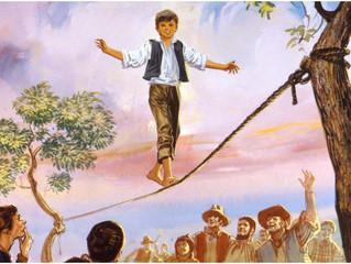 """Un mes con Don Bosco – Día 02: """"El pequeño prestidigitador y saltimbanqui"""""""
