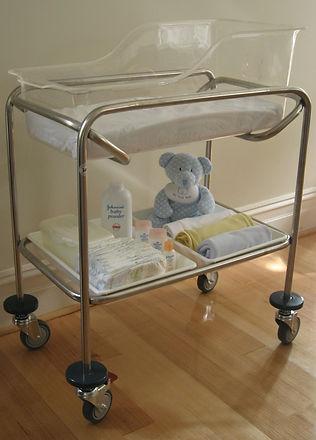 hospital style baby bassinet